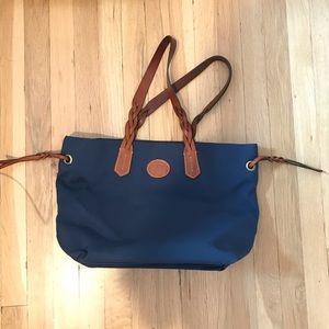 Navy Blue Dooney & Bourke tote bag